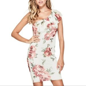 New G by Guess Cute Black Floral Summer Dress